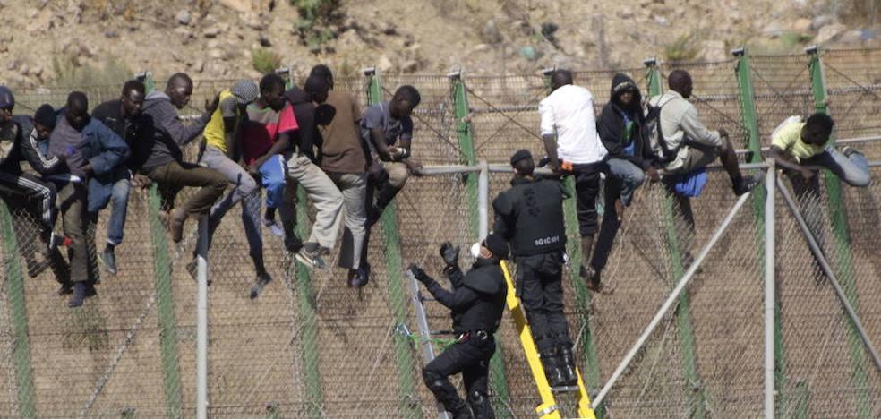 Se duplica el número de inmigrantes llegados a España
