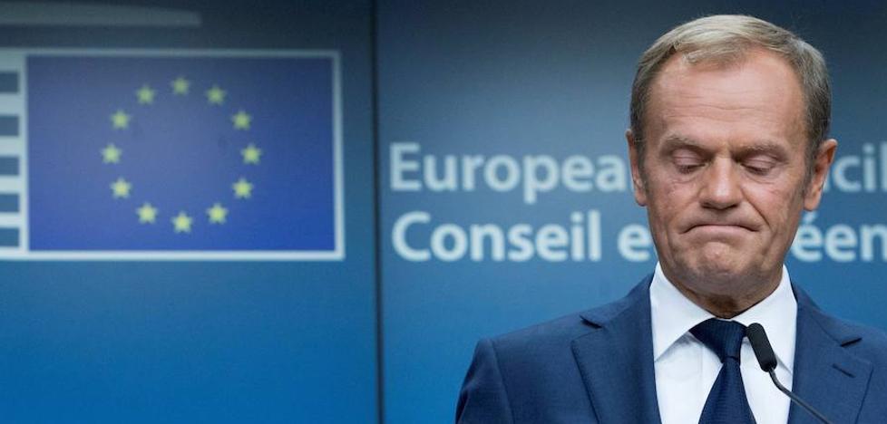 Tusk asegura que «no hay lugar para una intervención de la UE» en Cataluña