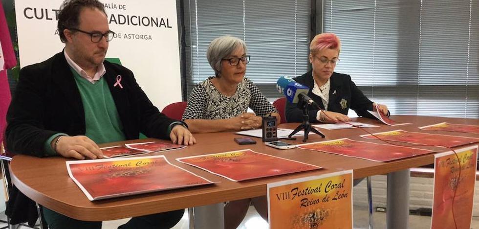 Astorga ofrece el VIII Festival Coral 'Reino de León' con la Coral Enol del País Vasco como invitada