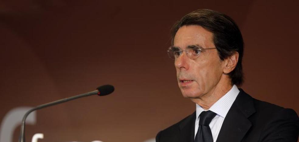 Aznar: «La reforma constitucional no debe ser un pago a plazos al secesionismo»