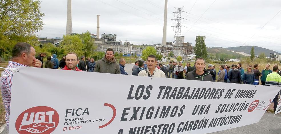 Los mineros de Uminsa y HBG llevan a indefinidas sus protestas cansados de ser «paganos» de los «engaños» de Endesa