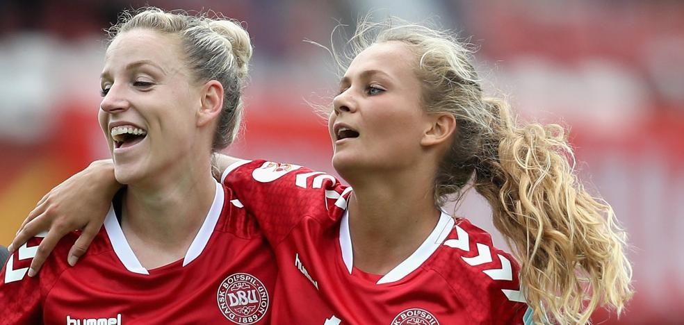 Las futbolistas danesas suspenden su huelga tras alcanzar un acuerdo salarial