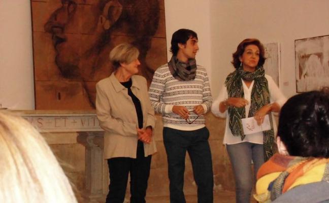Ángela Merayo presenta sus dibujos en 'Divertimento'