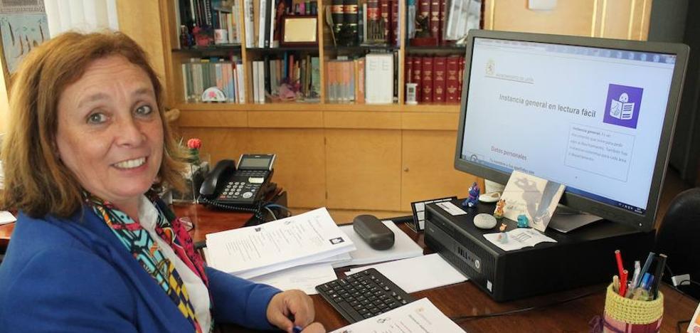 El Ayuntamiento de León pone en período de pruebas las instancias de lectura fácil para personas con discapacidad