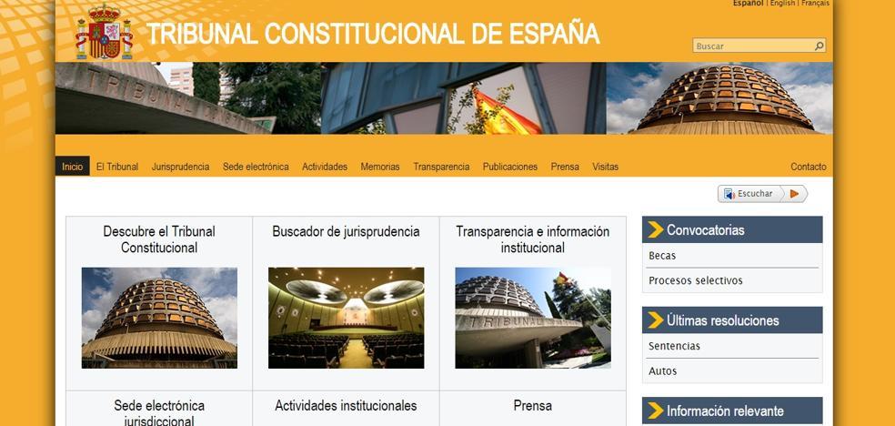 Anonymous 'hackea' la web del Constitucional bajo la campaña 'Operation Free Catalonia'