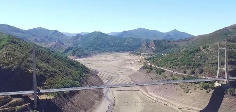 Los reservas de agua leonesas no remontan con las últimas lluvias y Barrios de Luna sigue sin llegar al 5%