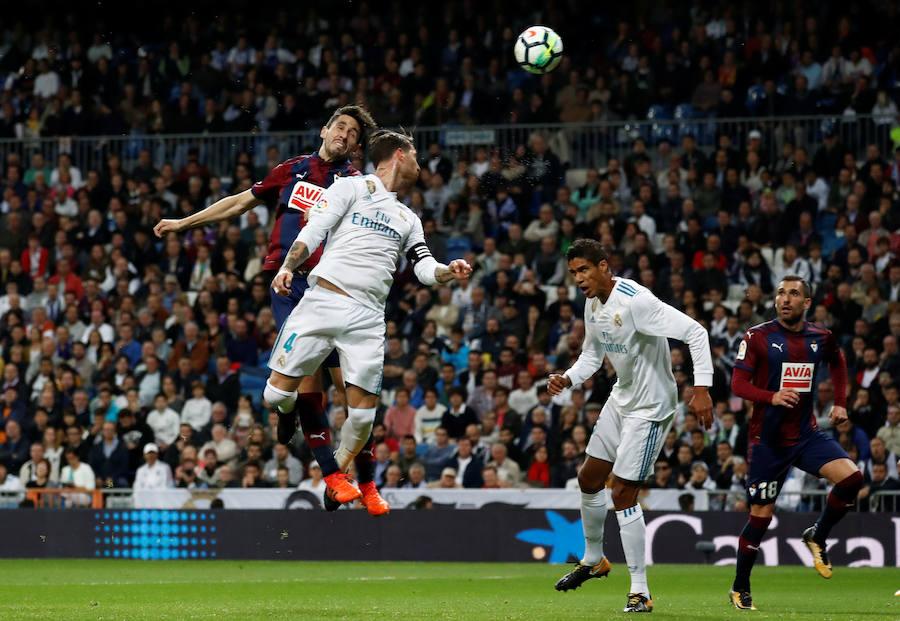Los mejores momentos del Real Madrid-Eibar, en imágenes