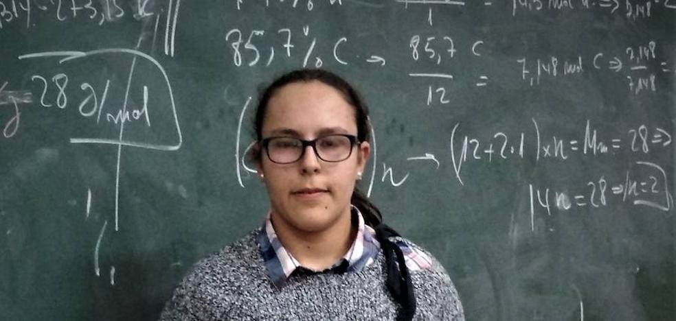 Una alumna del colegio Maristas San José gana el Premio Extraordinario de la ESO 2017