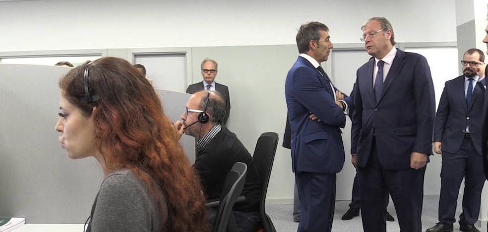 Caser da vida a unas antiguas oficinas de EspañaDuero con un call center que tendrá cincuenta trabajadores