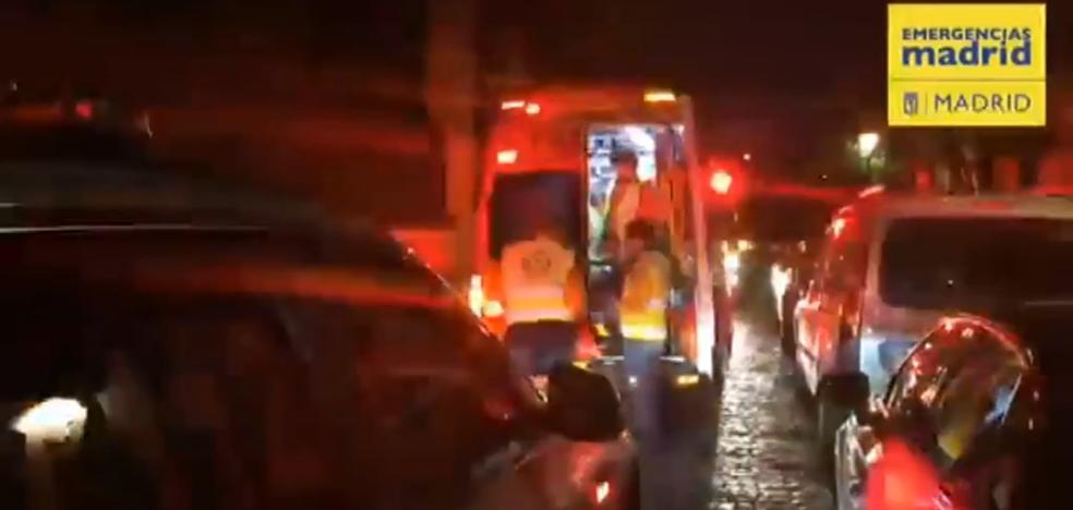 Un hombre, muy grave al ser golpeado en la cabeza con un martillo por su hija en Madrid