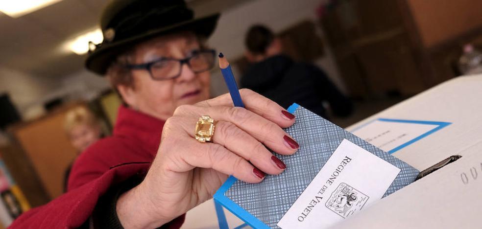 Lombardía y Veneto reclaman más autonomía a Italia en referéndum