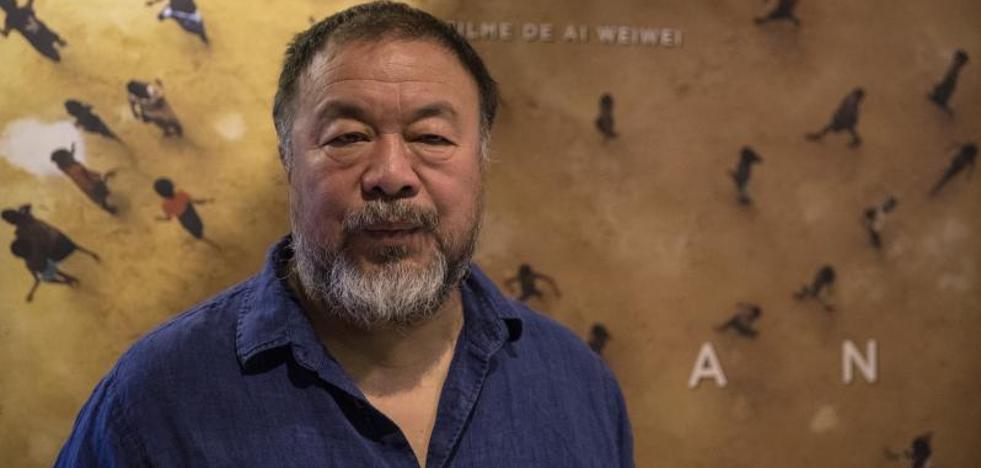 Ai Weiwei: «El problema de Cataluña se arregla con diálogo y no con represión»