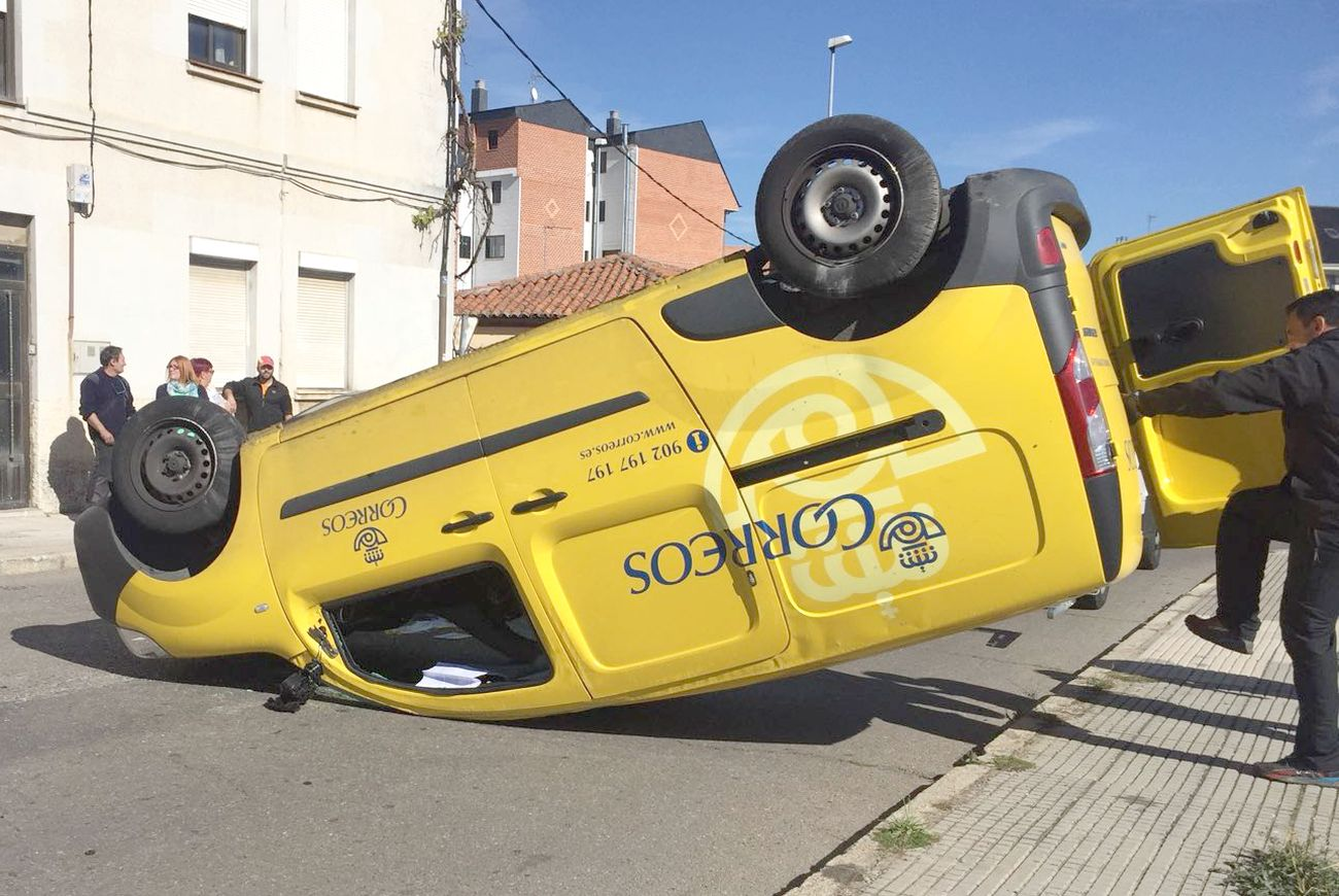 Espectacular accidente