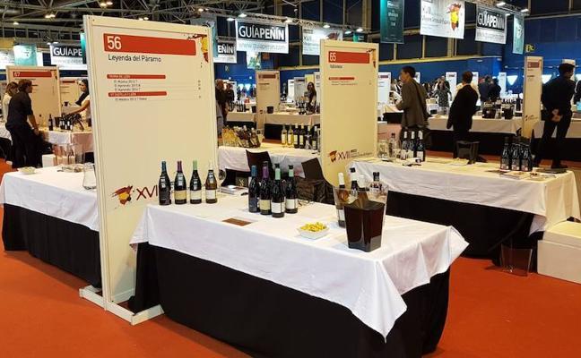 Leyenda del Páramo se pase en el Salón de los Mejores Vinos de España