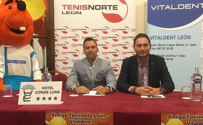 Vitaldent, patrocinador de la XI Liga Tenisnorte-León