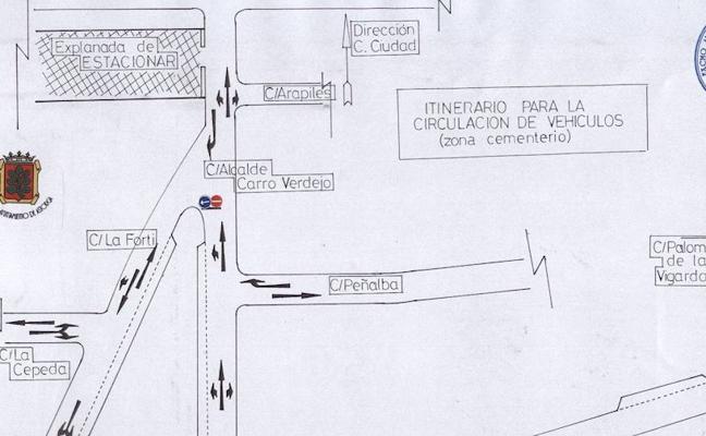 El Ayuntamiento de Astorga anucia el dispositivo de circulación para el puente de Todos los Santos