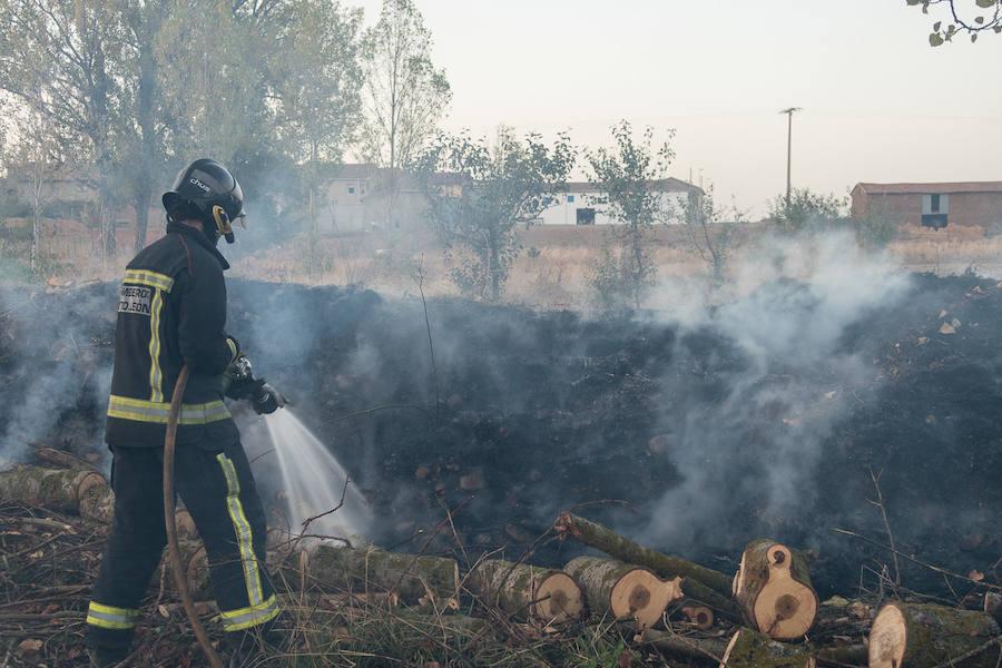 Incendio en Malillos