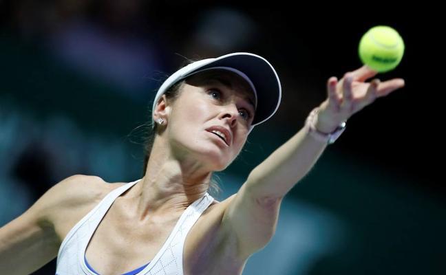 Martina Hingis se despide del tenis con una derrota en semifinales