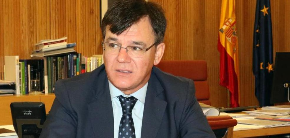 Juan Ignacio Diego, presidente de la CHD: «No puede ser un año tan atípico como para que no llueva en invierno»