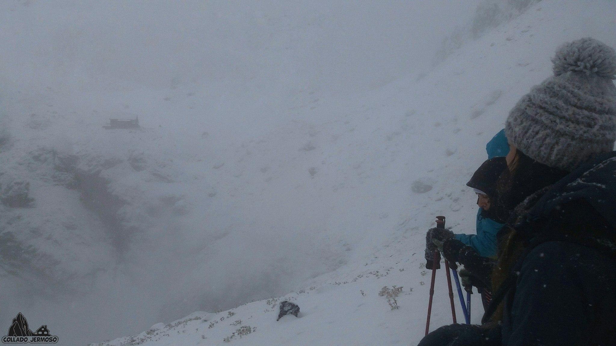 La nieve llega a la provincia de León