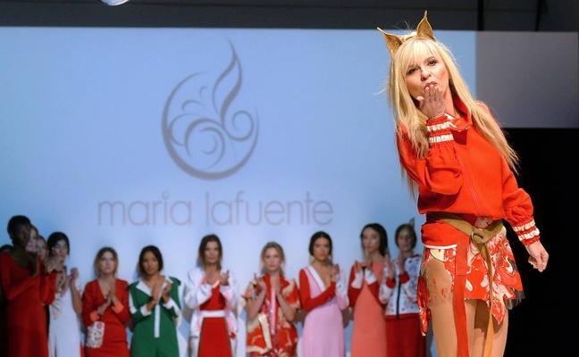 La moda se rinde al 'rojo' de lafuente