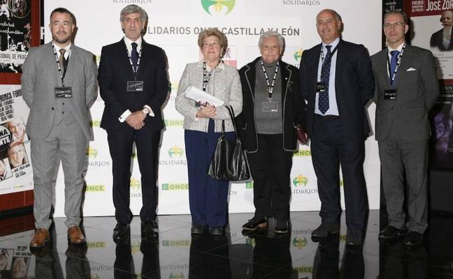 La ONCE rinde homenaje a la sociedad de Castilla y León por su solidaridad
