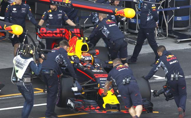 Red Bull quiere ganar desde la misma presentación