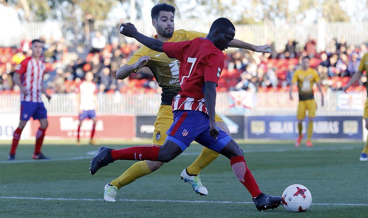 Atlético B 2-1 Ponferradina