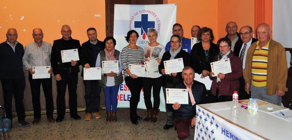 Donantes de Sangre de León celebra su Asamblea Comarcal del Órbigo