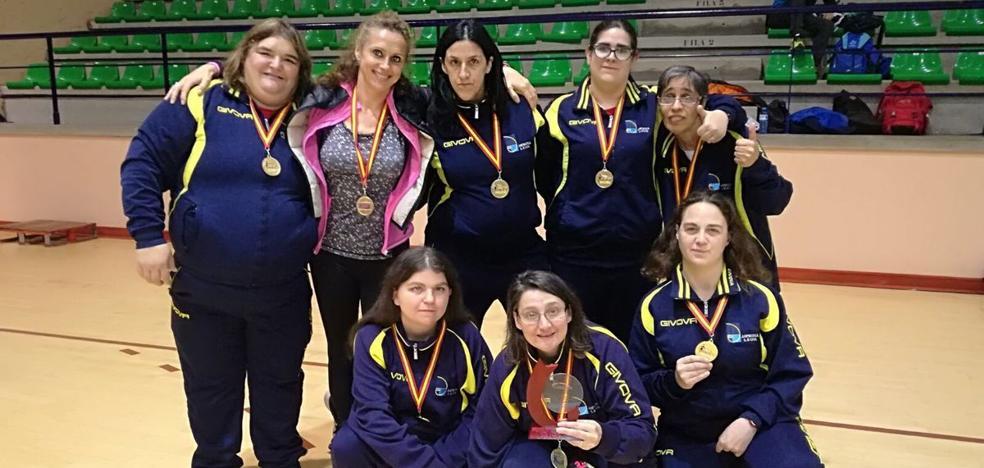 El baloncesto femenino de Asprona-león reina de nuevo en España