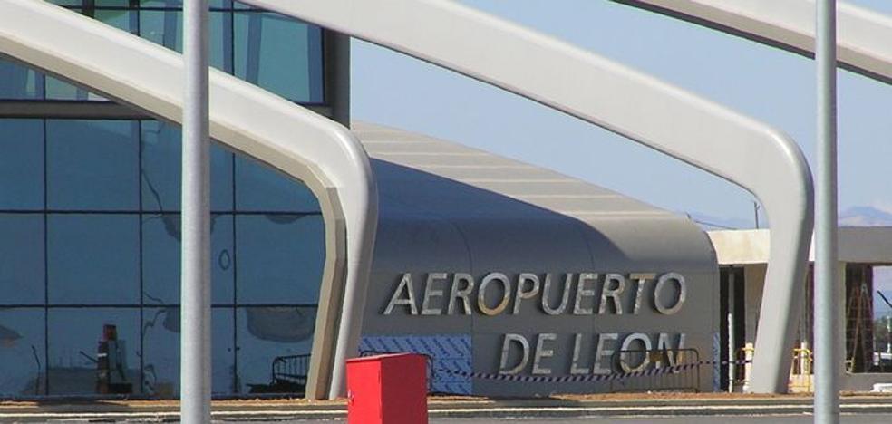 El Aeropuerto de León consolida su crecimiento con un aumento del 41% en los pasajeros en octubre