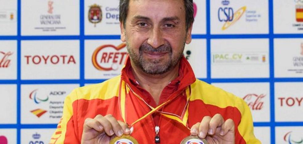 Juan Bautista, doble medallista en el Open de Alicante