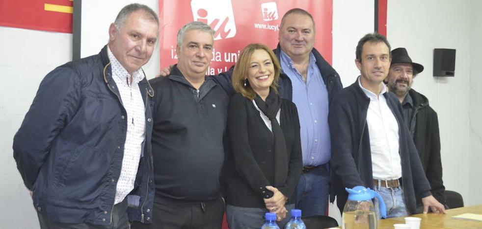 IU de León, Asturias y CCOO unen fuerzas para «coordinar acciones» en pro del desarrollo de la Variante