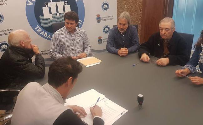 Villaquilambre y la Asociación 'Alcazaba' rubrican su convenio anual, a la que destina 2.500 euros