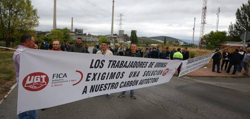 El precio del carbón dificulta el pacto entre Endesa y HBG y sus mineros dejan los cortes para pedir diálogo