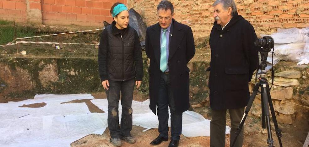 Astorga ofrece unas jornadas de puertas abiertas para explicar la restauración del mosaico romano