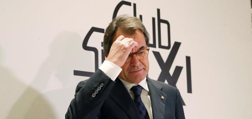 Artur Mas admite una reflexión del secesionismo sobre el «manejo de los tiempos»