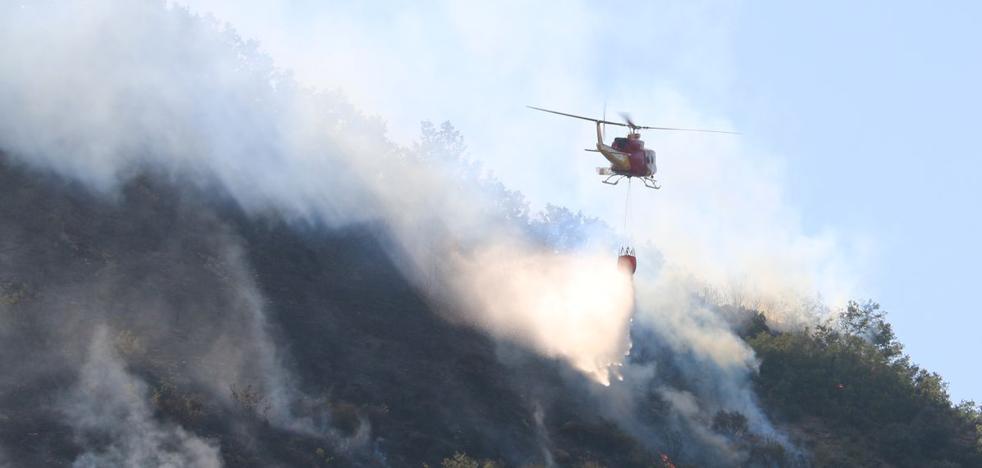 El fuego arrasa más de 21.000 hectáreas en León en 2017, más de la mitad de la superficie calcinada en la Comunidad