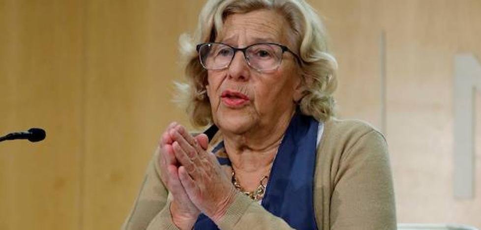 Carmena retirará 173 millones de las cuentas para cumplir con Hacienda