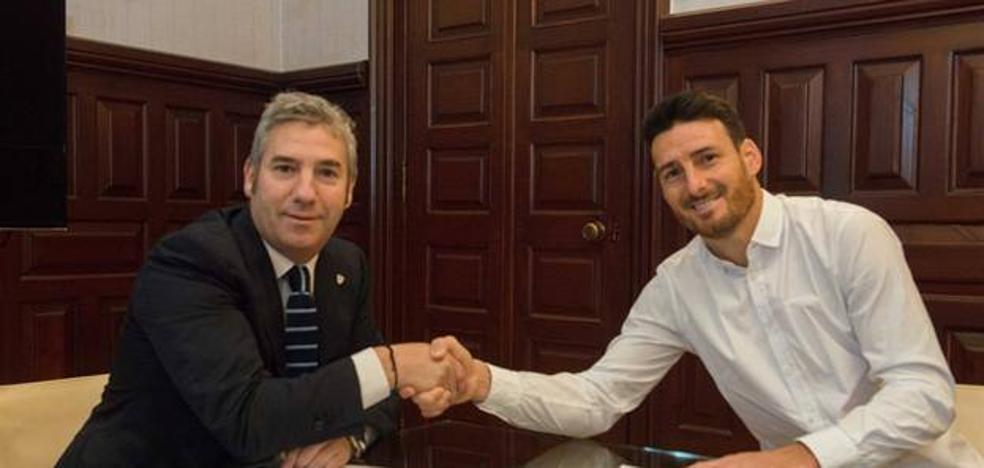 Aduriz renueva por el Athletic hasta 2019: «Estoy muy agradecido»
