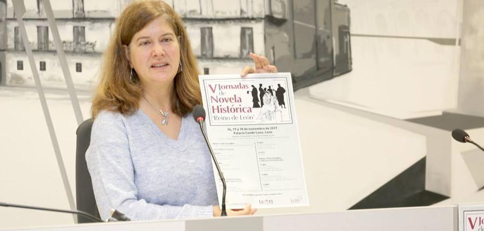 Carmen Posadas y Almudena de Arteaga participan en las Jornadas de Novela Histórica de León