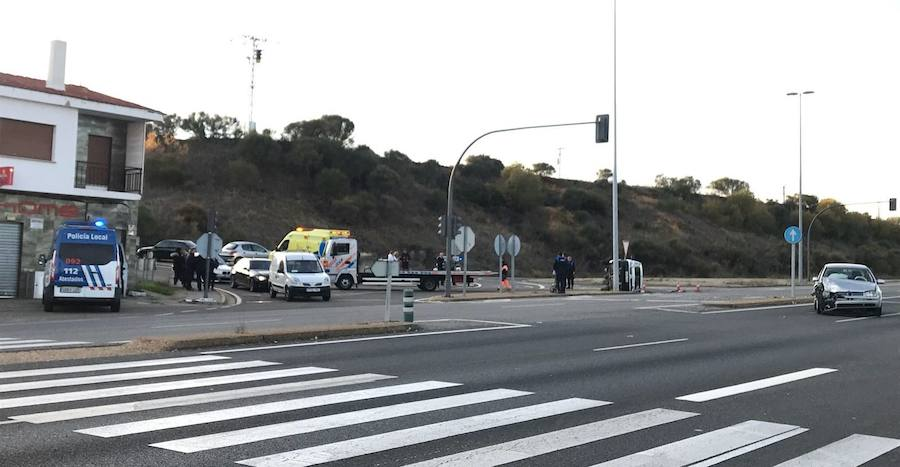 Accidente en el cruce de Oteruelo
