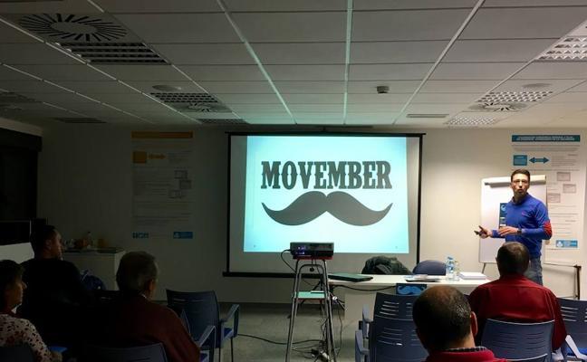 El Hospital San Juan de Dios de León celebra 'Movember' informando sobre el cáncer de próstata