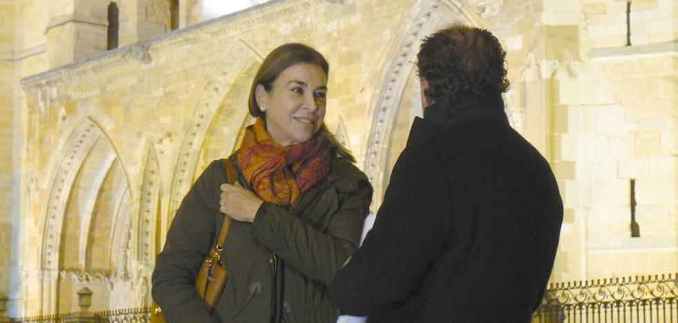 Carmen Posadas: «Soy muy fan de la cecina de León»