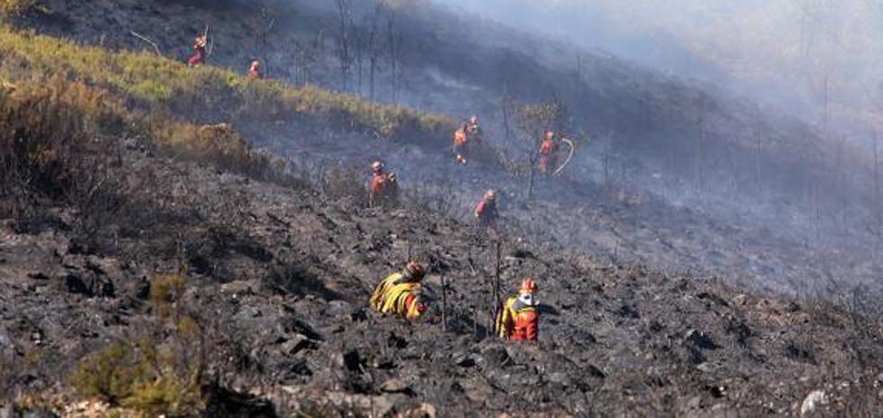 Citan como imputado a un ganadero por el incendio de la Tebaida berciana