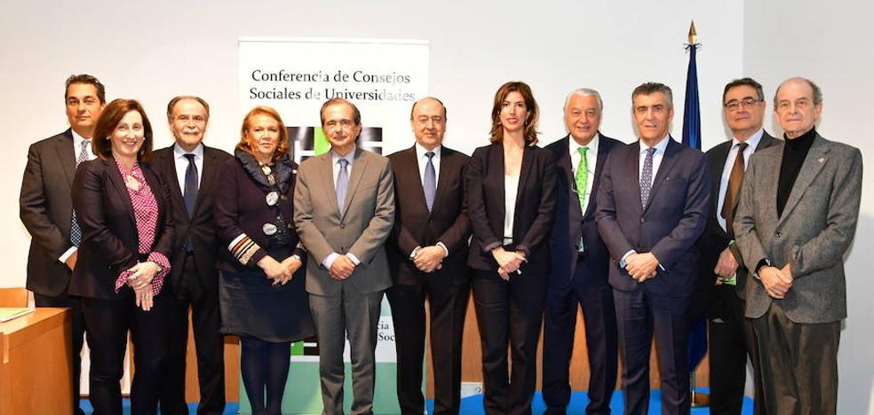 El Consejo Social de la ULE entra en el comité ejecutivo de la Conferencia Nacional