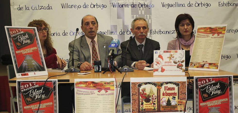 La XIV Campaña de Navidad de AEDO se adelanta con el Black Friday y el concurso de Escaparates