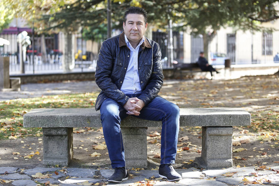 Luis Mariano Santos, candidato a liderar la UPL