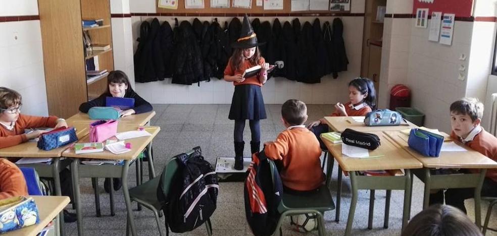 Los alumnos del Colegio Divina Pastora de León 'piden la palabra' para mejorar la lectura