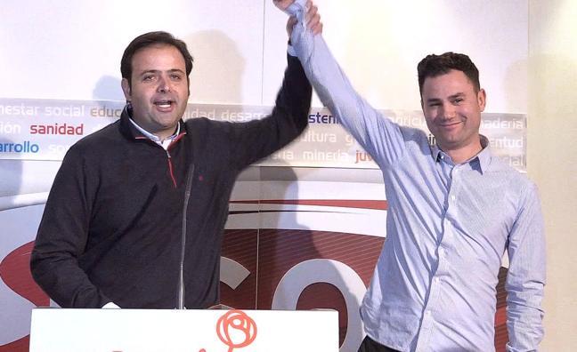 Javier Cendón se impone a Diego Moreno y asume las riendas del PSOE de León con el reto de 'coser' el partido